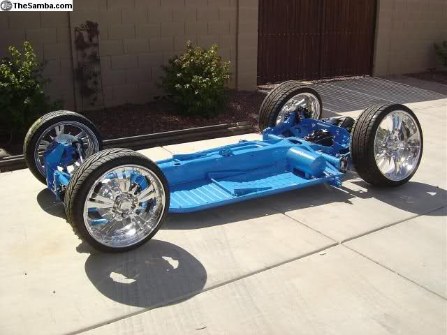 New VW Bug Chassis | Complete Bolt On kits now available! Click this link http:\/\/www ... | cars ...