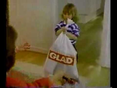 Glad Garbage Bags Commercial (1986) - name calling