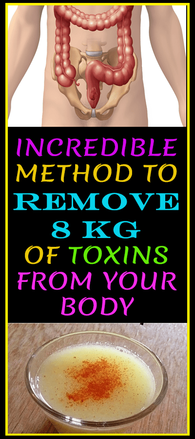 Incredible Method to Remove 8 kg of Toxins From Your Body  #wieghtloss  #fitness