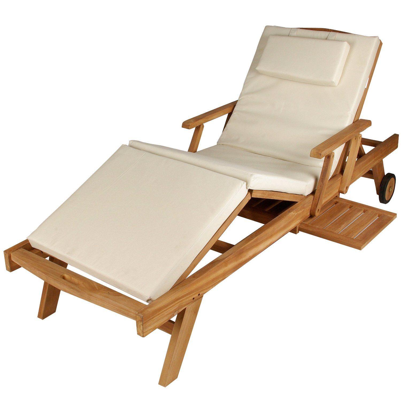 Amazon De Divero Gl05660 Mehrfach Verstellbare Sonnenliege Gartenliege Relaxliege Liege Holzliege Teak Holz Mit Armlehnen Ta Gartenliege Holzliege Sonnenliege