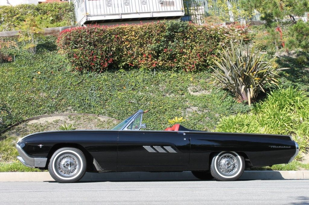1963 Ford Thunderbird Convertible | Thrills | Pinterest | Ford ...