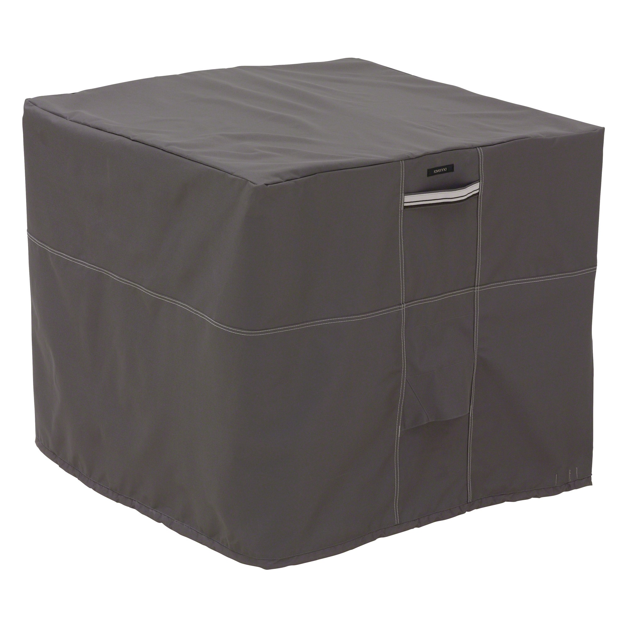 Ravenna Square Air Conditioner Cover Dark Taupe