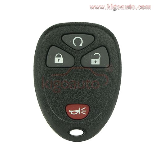 Ouc60270 Ouc60221 Remote Fob 315mhz 4 Button For Gm Fobs