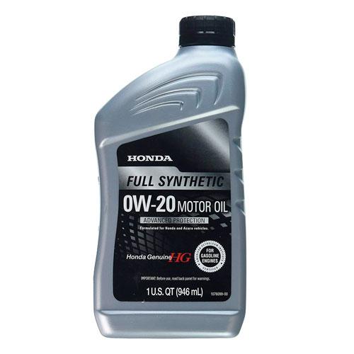 Best Motor Oil For Honda Accord Review 2020 Carnes Mechanical Honda Blended Full Synthetic Motor Oil 0w 20 Honda Accord Oils Oil Change