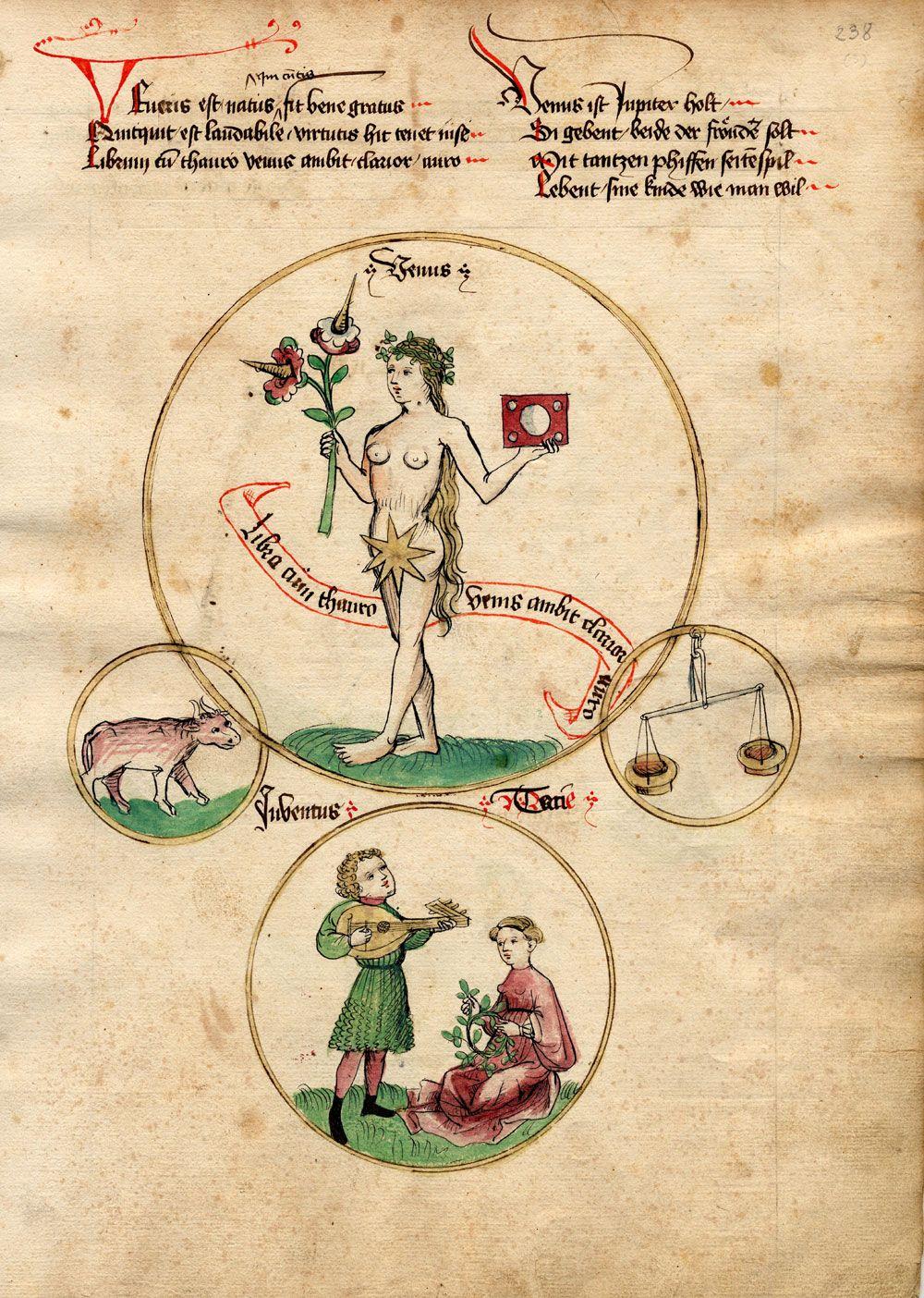 Venus http://www.ubs.sbg.ac.at/sosa/handschriften/MIII36(3r).jpg