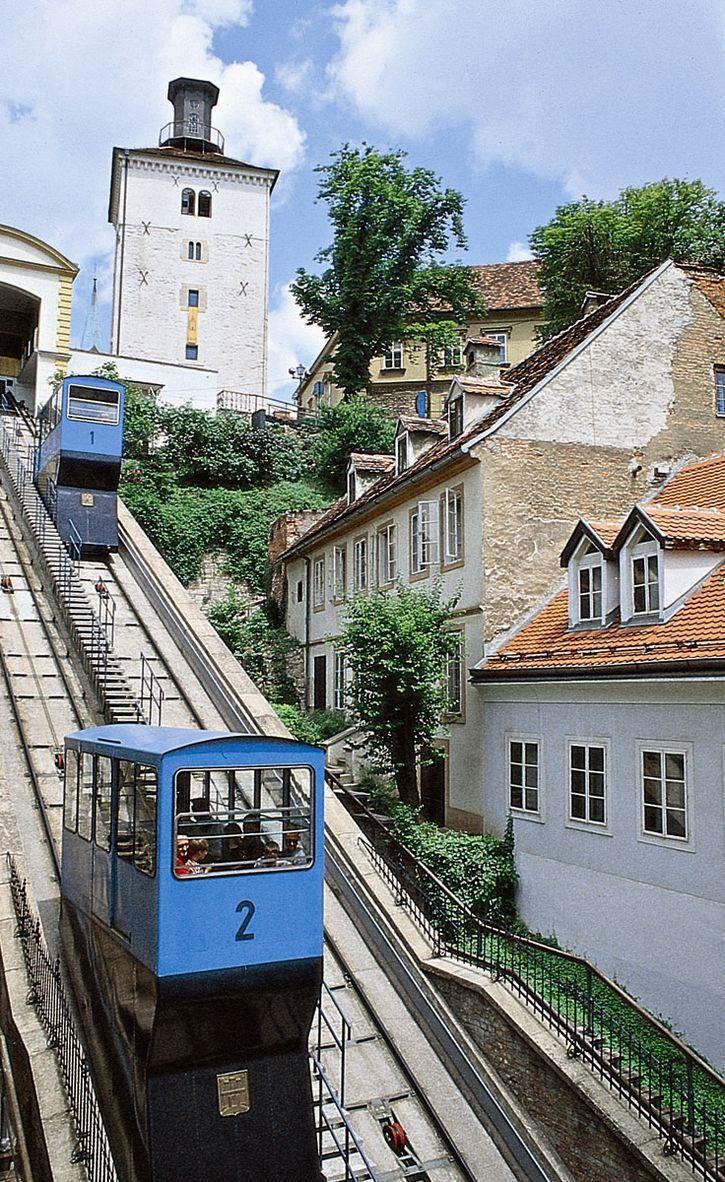 Funicular Railway Zagreb Croatia Croatia Travel Croatia Visit Croatia