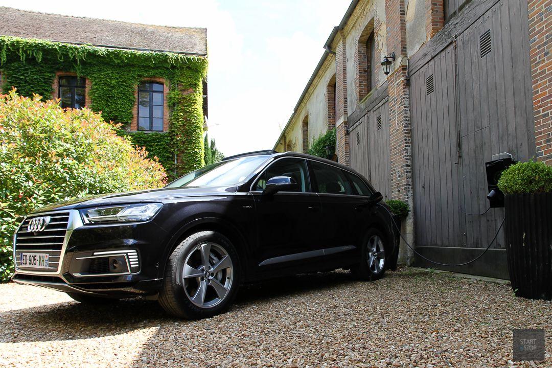 essai audi q7 e tron quattro diesel mais hybride rechargeable