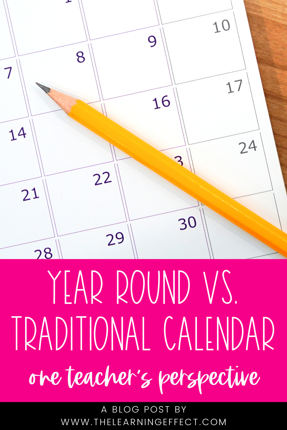 Year Round vs. Traditional Calendar in 2020 School