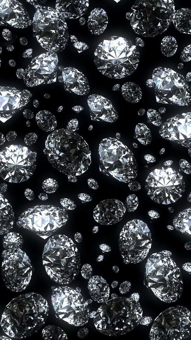 Wallpaper Iphone 5s Black Diamond Wallpaper Diamond Wallpaper Iphone Wallpaper Glitter