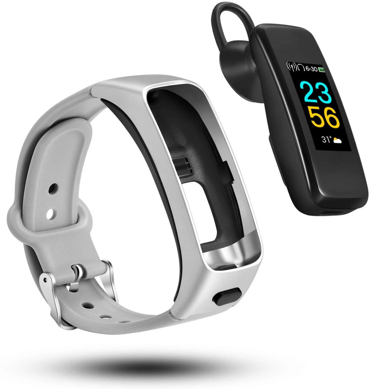 odfit Bluetooth Headphone Fitness Bracelet 2 in 1, Smart