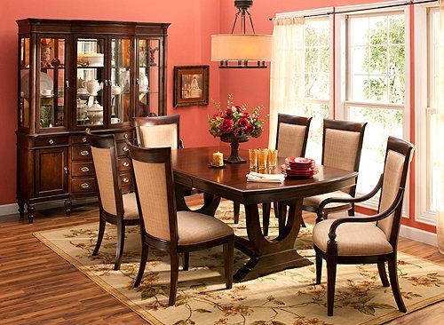 Elise 7 Pc Dining Set Dining Sets Raymour And Flanigan