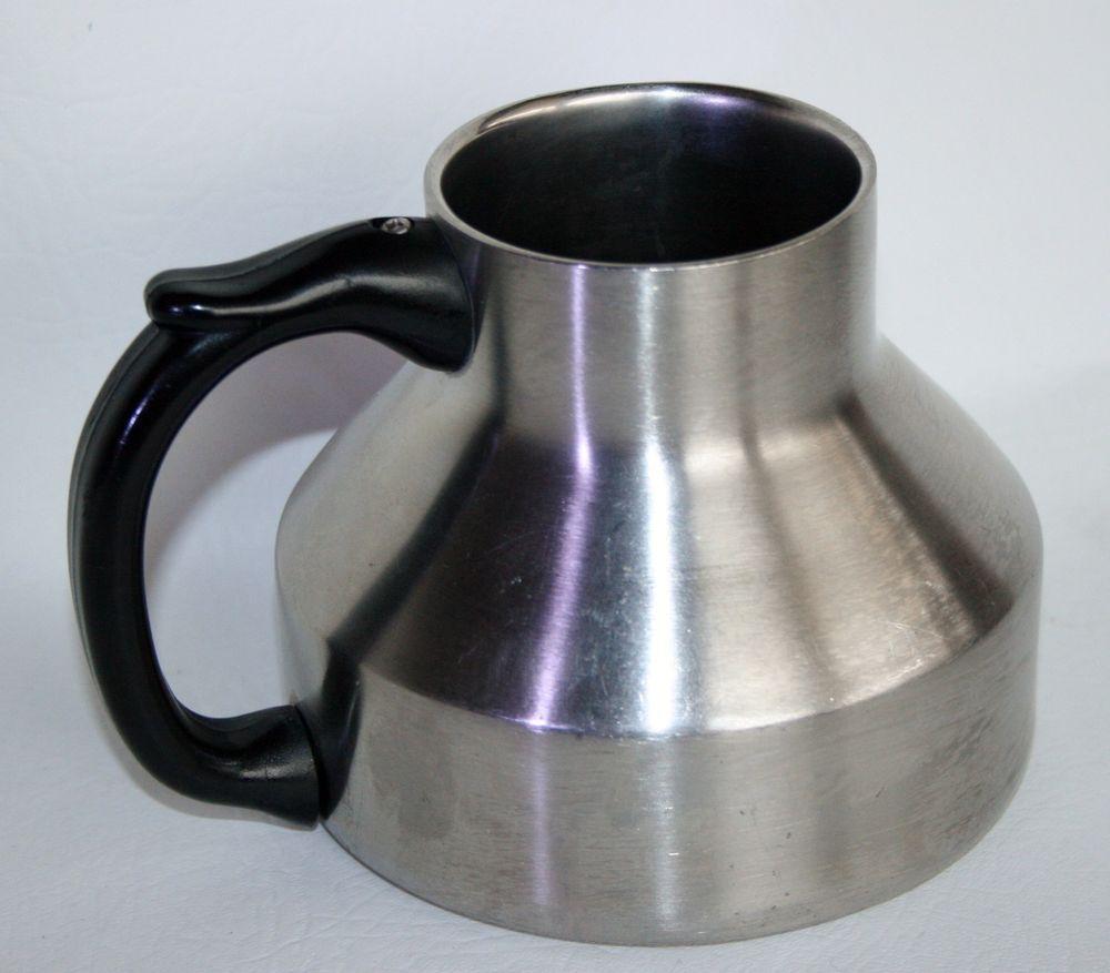 Stainless chubby mug