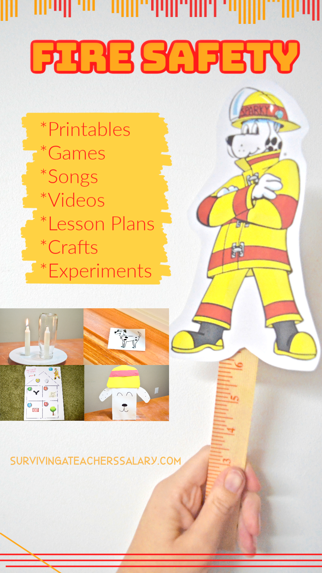 Fire Safety for Kids 30+ Activities for Fire Prevention
