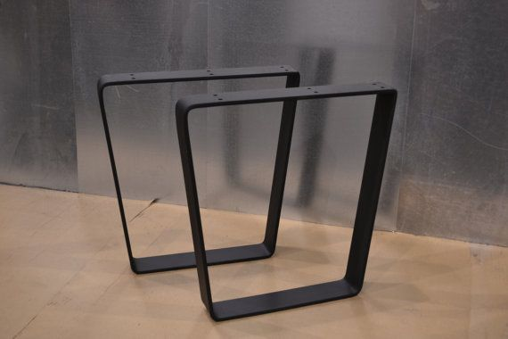 Tischgestell Metall Selber Bauen Tapered Trapezoid Style Metal Table/bench/desk Legs - Any ...