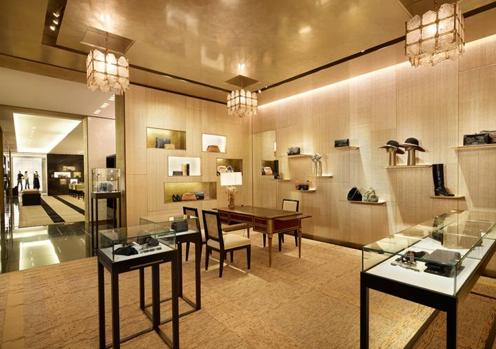 Chanel flagship store by peter marino london retail for Chanel milano boutique