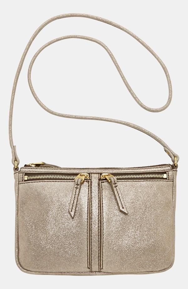Metallic Gold Crossbody Bag