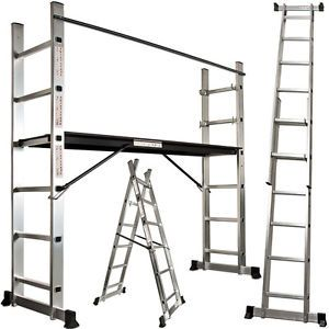 Platform Scaffold Ladder Multi Purpose Combination Extension Ladders Aluminium Scaffold Ladder Scaffolding Ladder