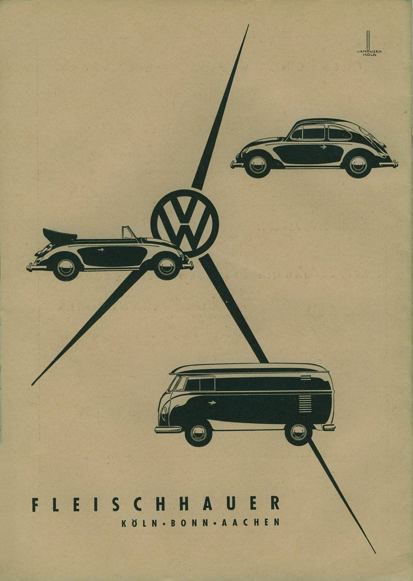 vw poster car auto vintage retro volkswagon bus beetle poster illustration vw. Black Bedroom Furniture Sets. Home Design Ideas