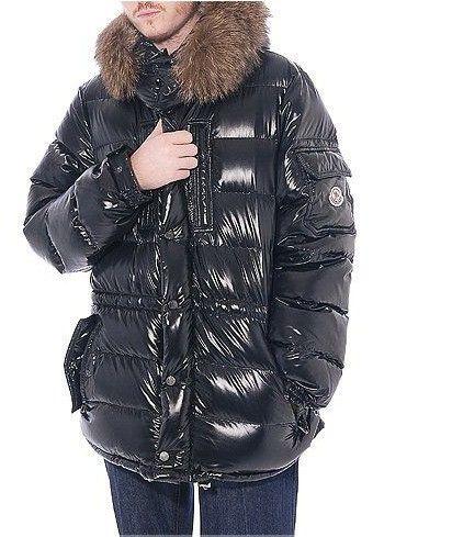 069c338af Moncler Mens Gabriel Quilted Down Fur Coat Black [2899997] - £167.20 ...