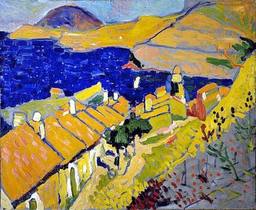 Colloiure By Andre Derain Henri Matisse Produccion Artistica