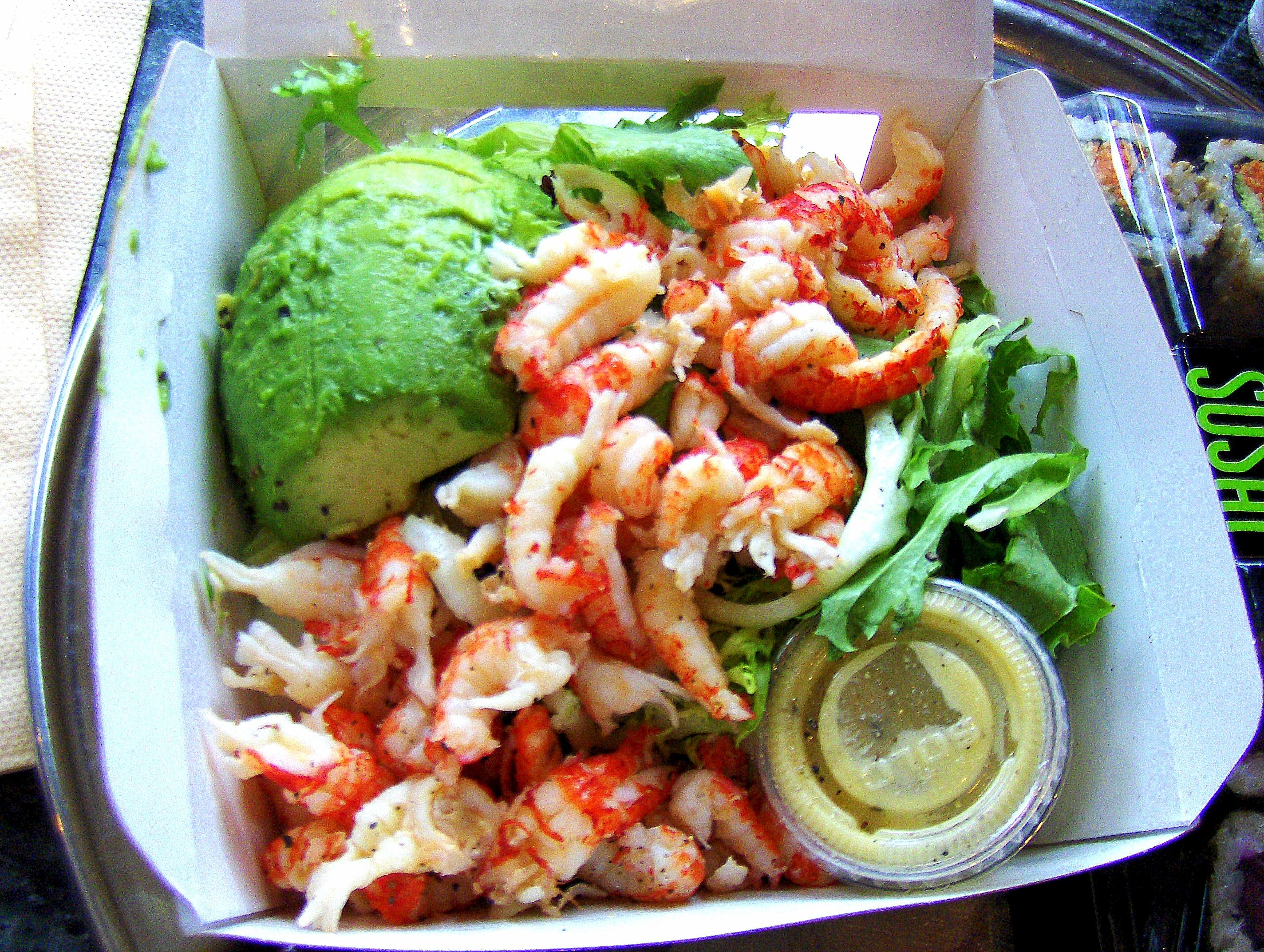 Pret Crayfish And Avocado Salad @ 206 Calories