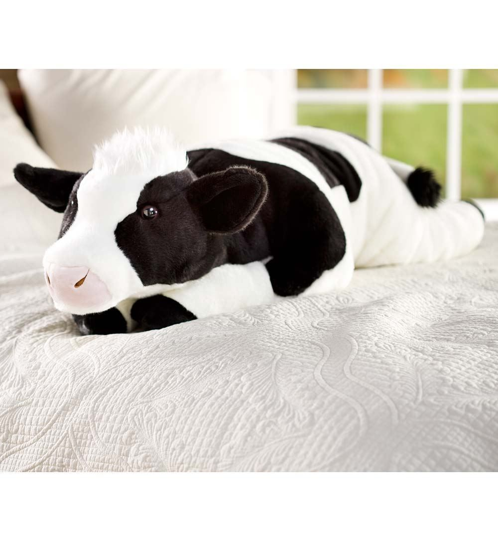 Cuddly Cow Body Pillow 90269 Curl Up With Our Cow Body