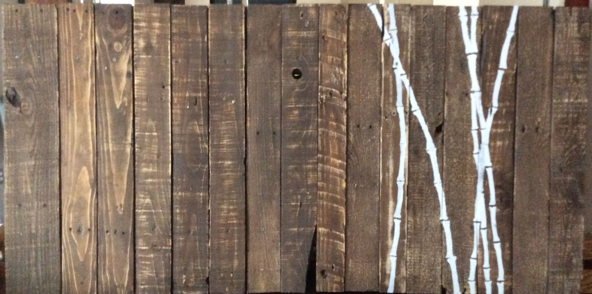 Bamboo reclaimed rustic wood use as a full size for Price of reclaimed wood