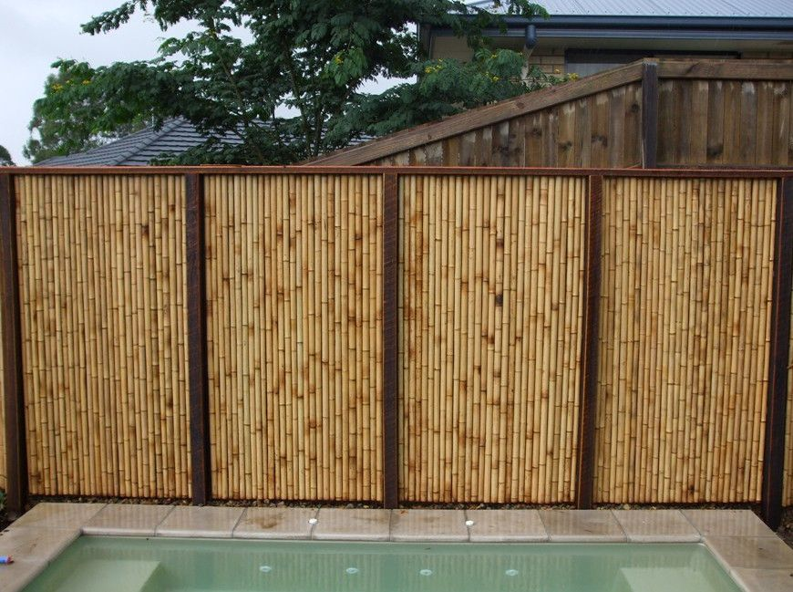 Fences - sustainable, durable and beautiful | The Owner-Builder Network |  Bamboo fence, Fence design, Bamboo garden fences