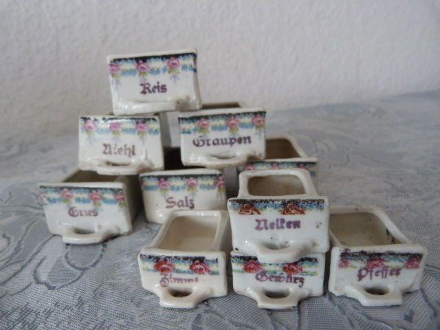 vorratsbehalter antike schatten reis mehl jugendstil puppenstube puppenkache ebay tupperware swing box