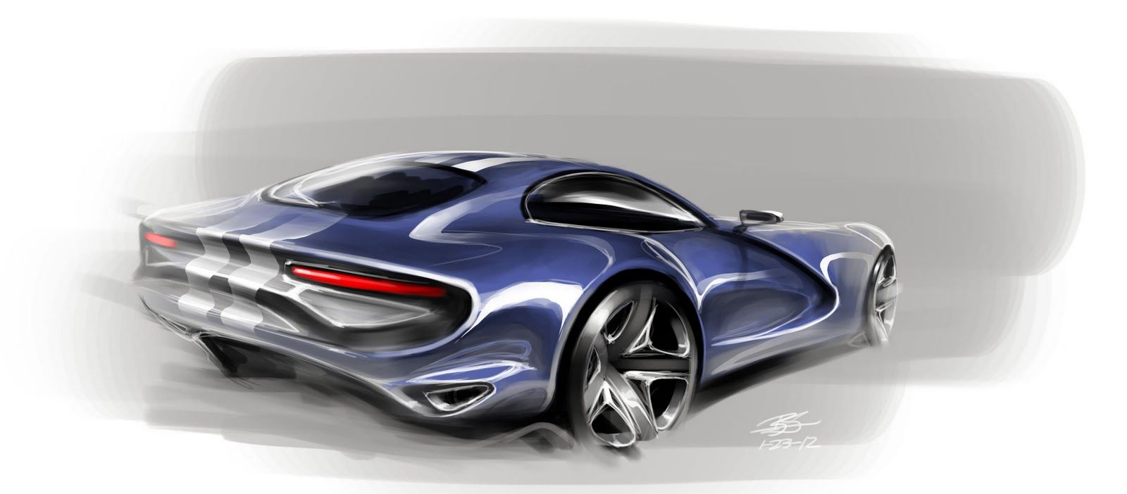 Muscle Car Concept Sketch Follow My Moto Sketches Board