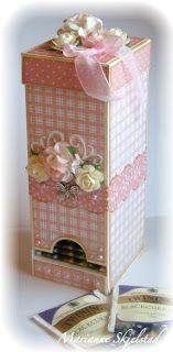cute tea storage  Mariannes papirverden.: Tutorials and links.