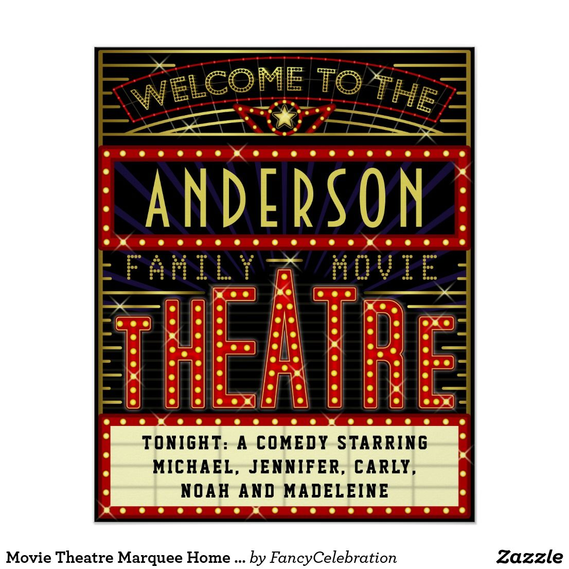 Movie Theatre Marquee Home Cinema
