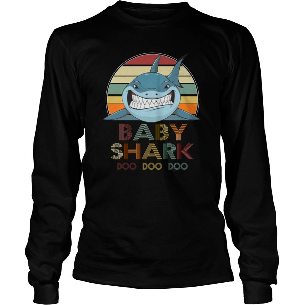76c8c184 Retro Vintage Baby Shark Tshirt Baby Shark, Sharks, Retro Vintage, Tee  Shirts,