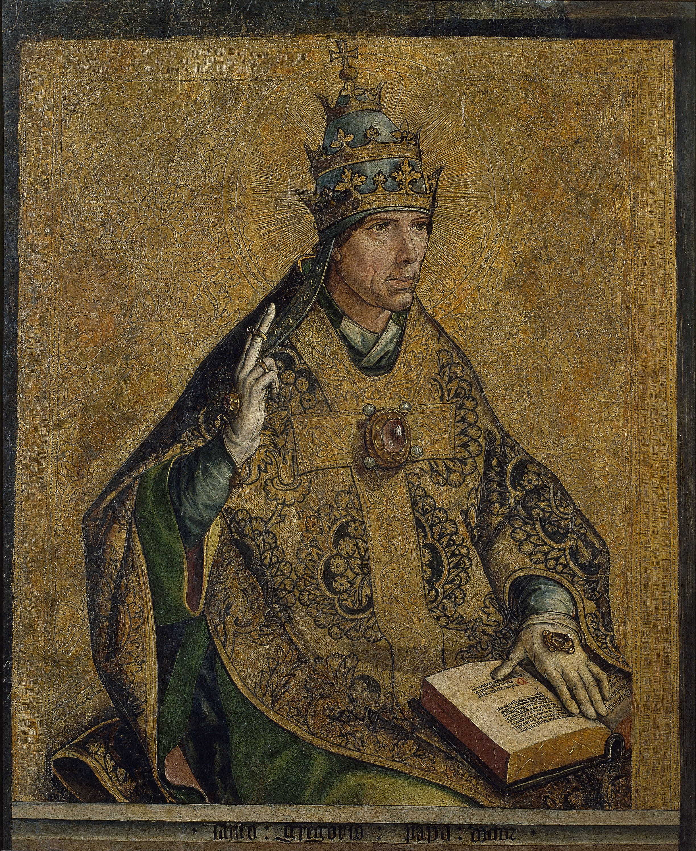 Sant Gregori Papa - Museu Nacional Dart De Catalunya Berruguete