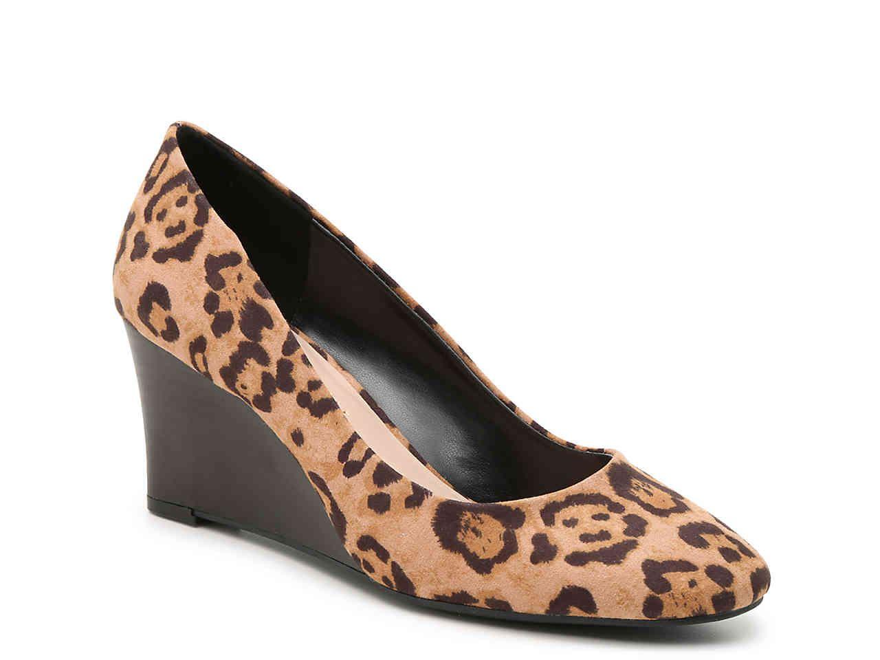 leopard print booties dsw