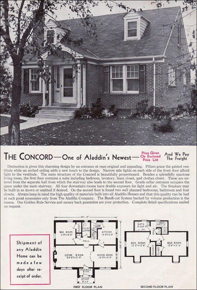 1940 Cape Vintage House Small House Plans Vintage House Plans