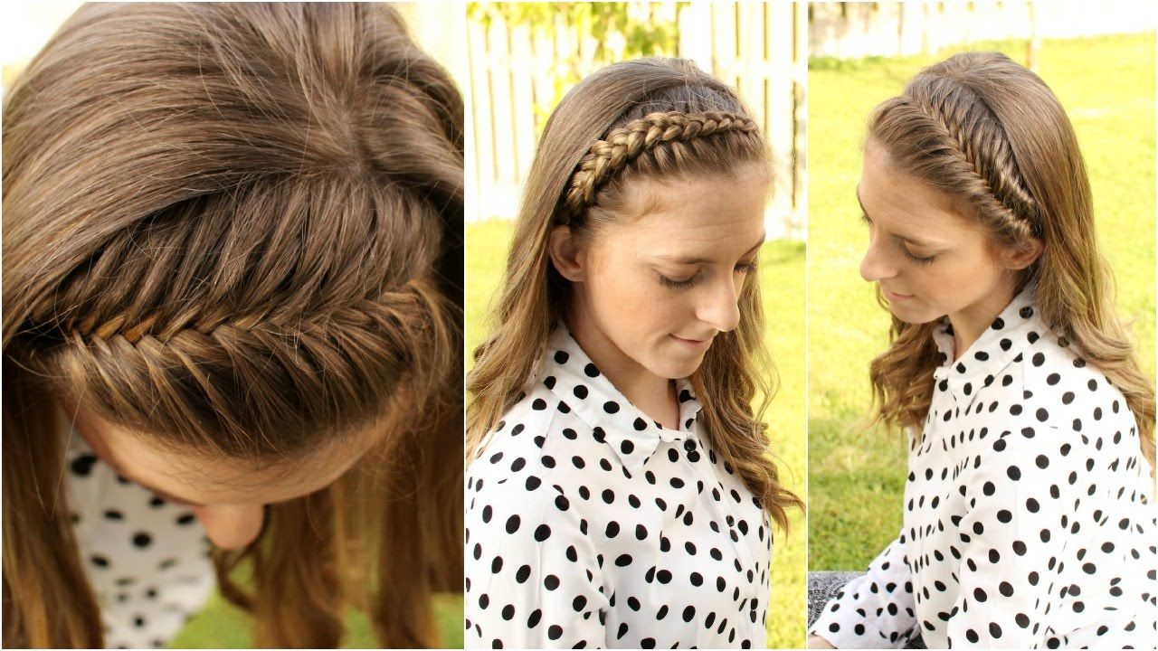 How to 4 diy braided headband tutorial for short medium long how to 4 diy braided headband tutorial for short medium long hair solutioingenieria Choice Image