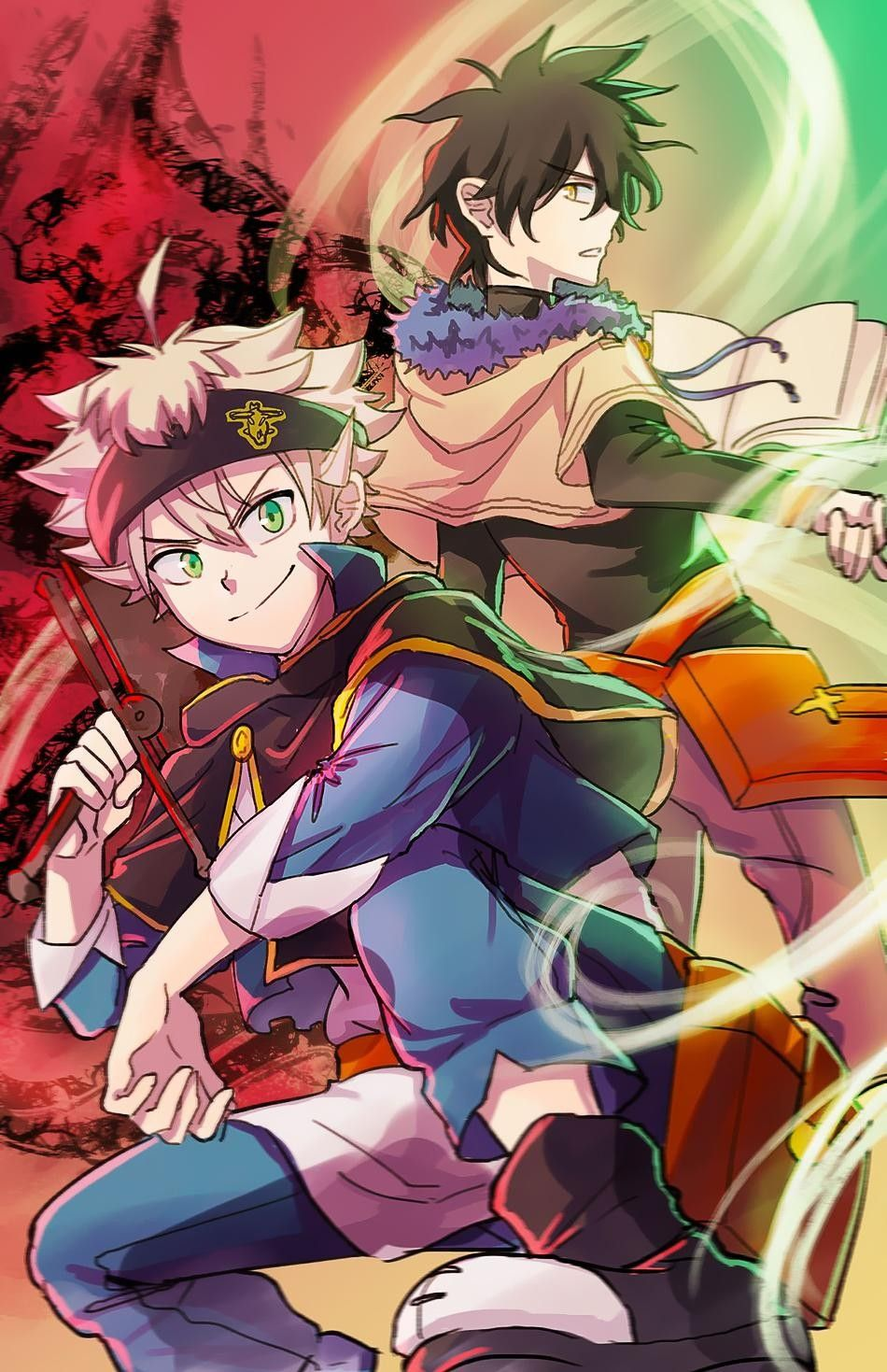 It has been serialized in shueisha's weekly shōnen jump magazine since. Pin by tammy on 2 in 2020 | Black clover anime, Black ...