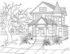 Line Drawings Of Houses Bing Images With Images House