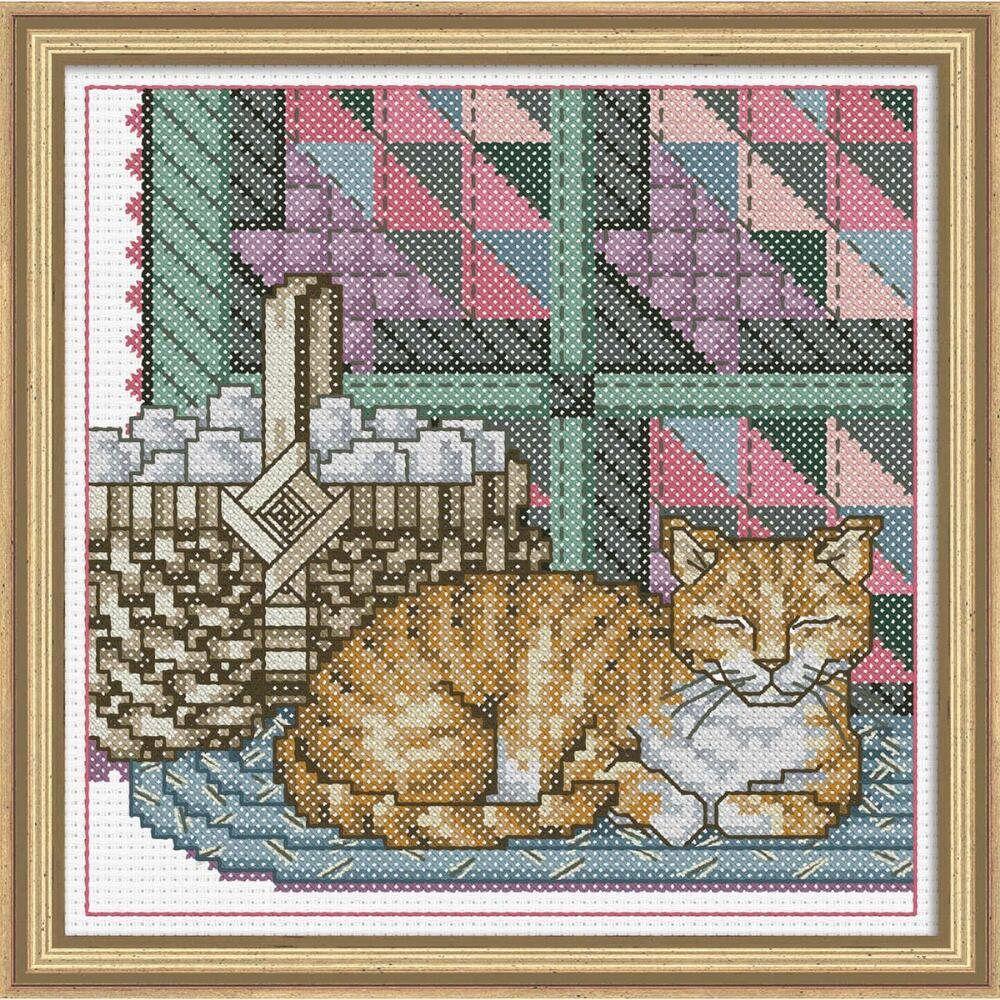 Cross Stitch Kit Appalchian Cat Cross stitch, Stitch