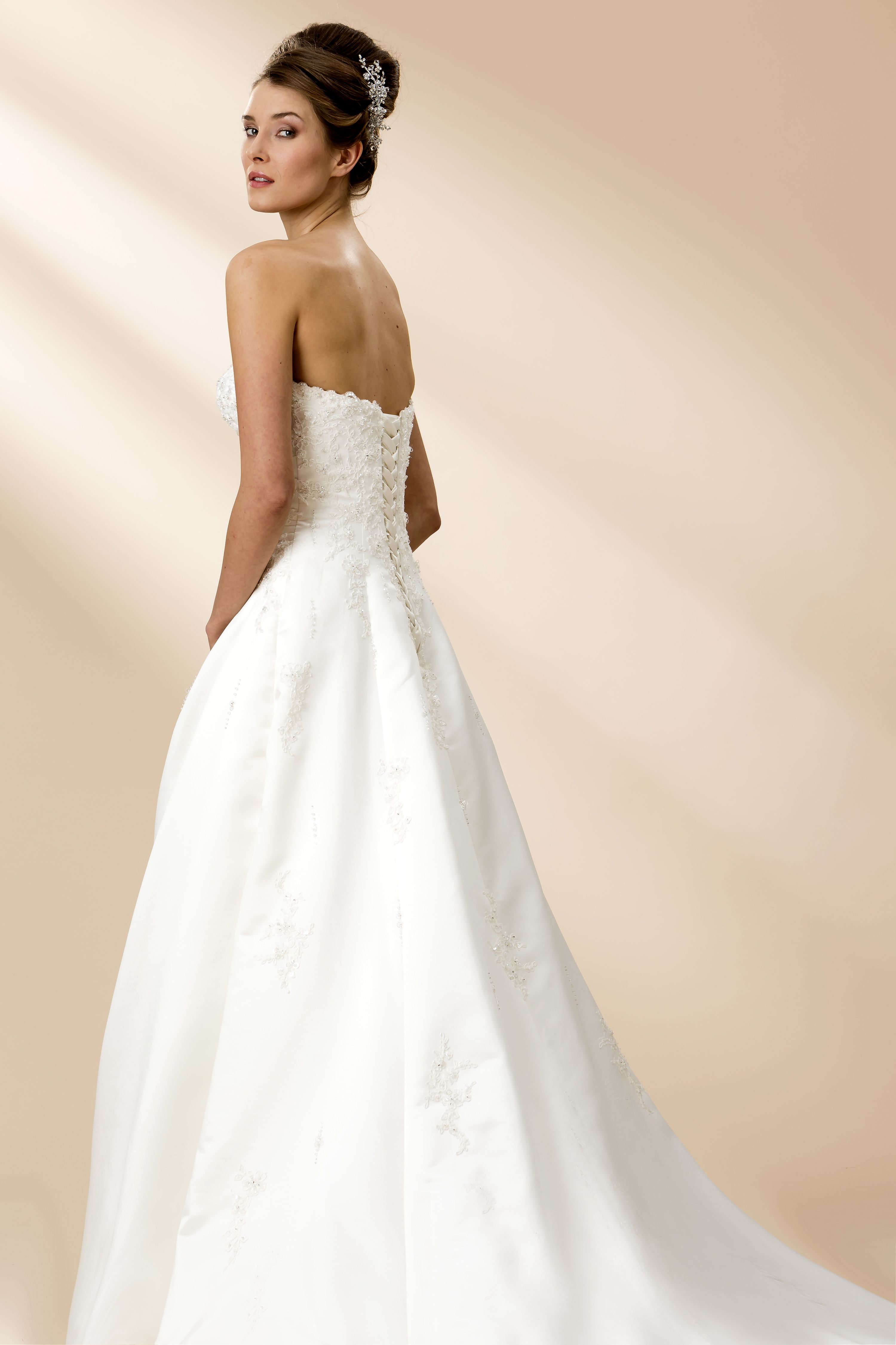 36++ Satin and lace a line wedding dress ideas in 2021