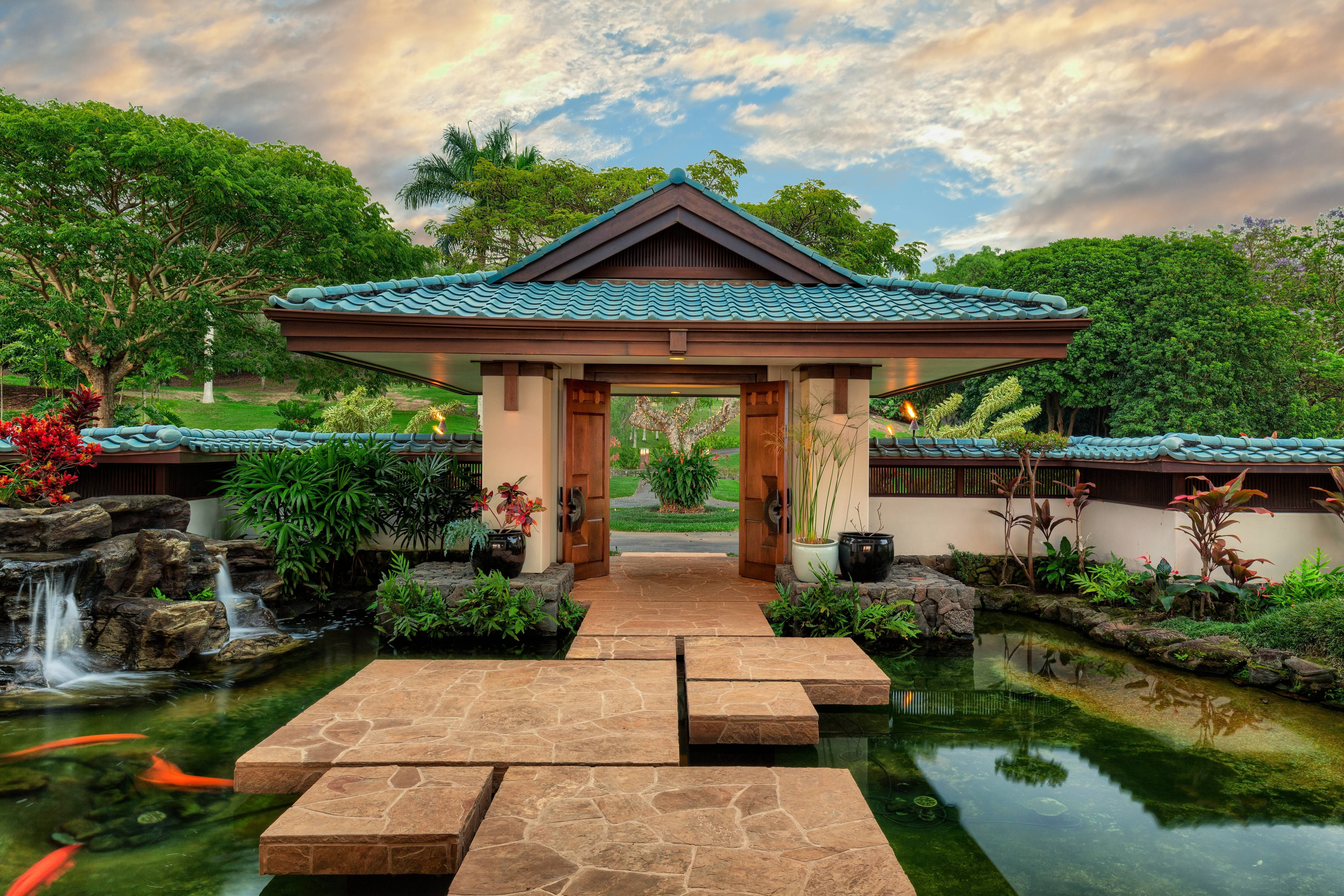 Hawaii Koi Ponds Backyard Pond Design Backyard