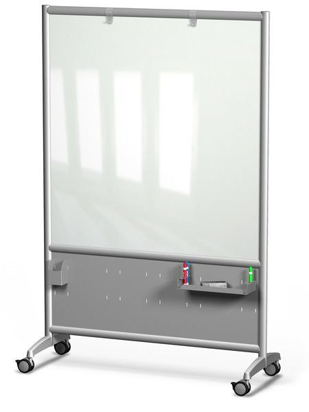 Mobile Rolling Glass Board By Merge Works Glass Board Glass