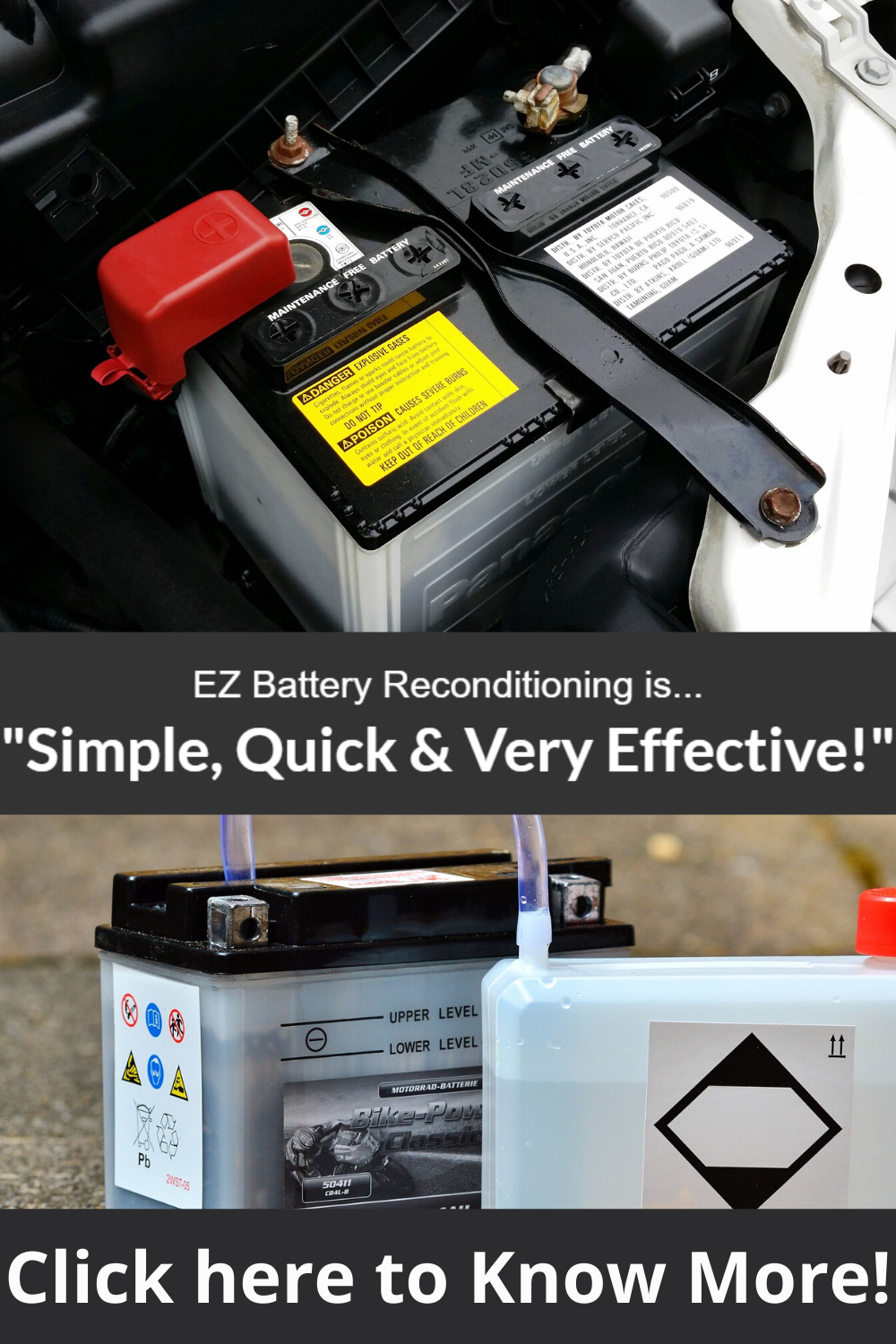 Bringing Dead Batteries Back To Life Is Simple