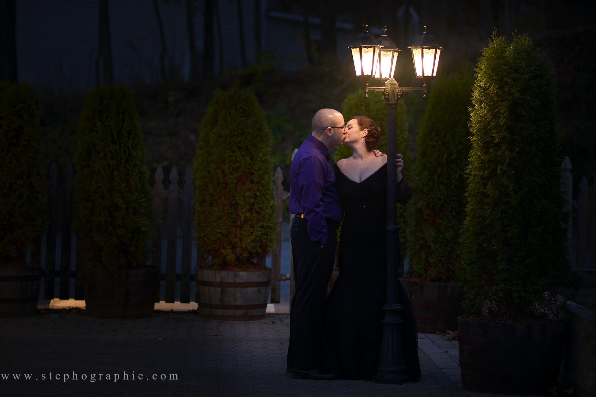 Ephographie black wedding dress bride offbeat bride