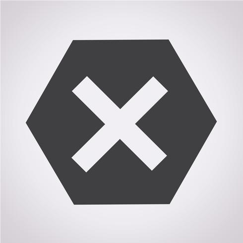 Error Icon Symbol Sign Vector Icons Free Free Vector Illustration Symbols