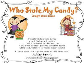 Hey everyone! I wanted to share this cute little sight word game I made!                    Go get your copy HERE    And I created another ...