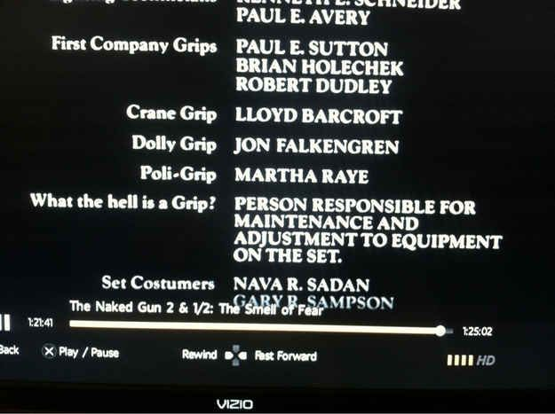 Naked Gun 2 1/2. | The 18 Funniest Things That Have Happened In The History Of Movie Credits