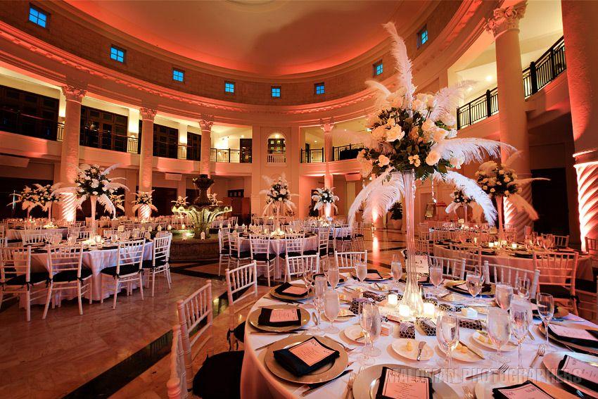 Venue The Westin Colonnade In Coral Gables Centerpieces Flowers Decor Wedding