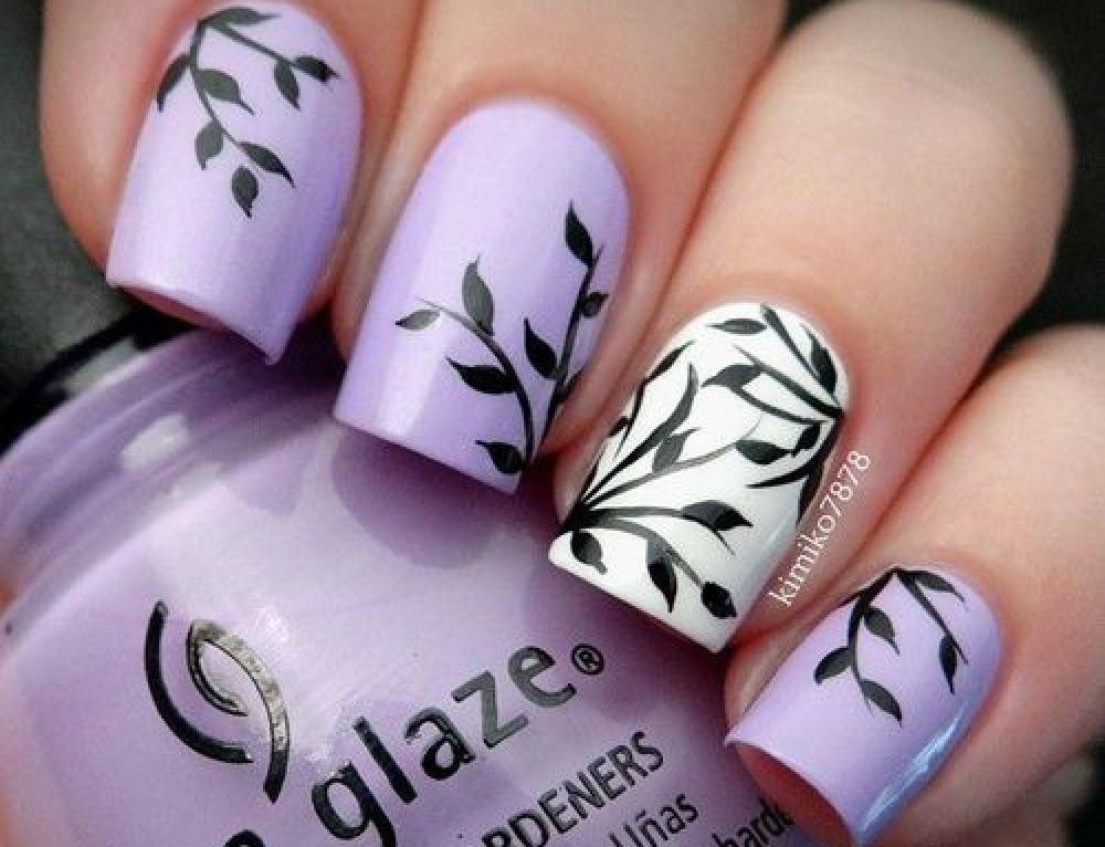 15 Super Easy Nail Designs   Fall nail colors, Nail nail and Makeup